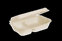 EKO PAK Product Clamshell Medium 2 Compartment